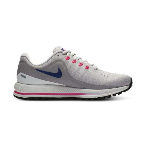 c0aa540551cf9 Women s Nike Air Zoom Vomero 13 Grey Blue Pink Shoe