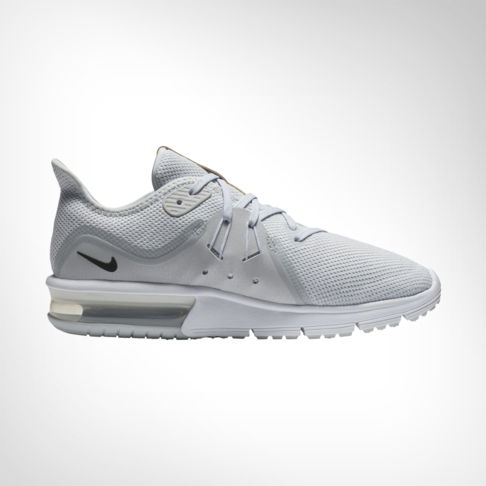 681d23c6f8a Women's Nike Air Max Sequent 3 Grey/White Shoe