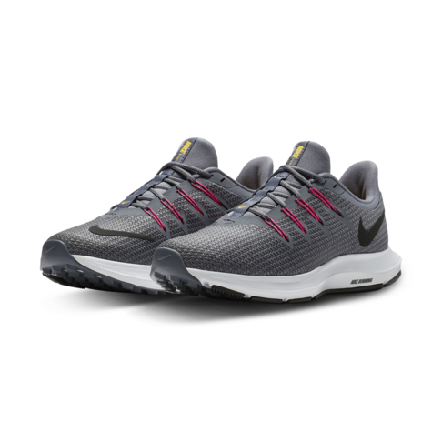 8f7d0cbd099 Women s Nike Quest Charcoal Pink Shoe