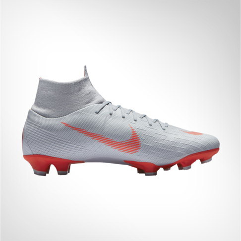 89744c2cef2e Men s Nike Mercurial Superfly 6 Pro DF FG Grey Red Boot