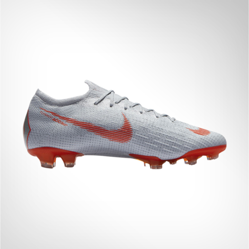 a5fd84a5e Men s Nike Mercurial Vapor 12 Elite FG Grey Red Boot