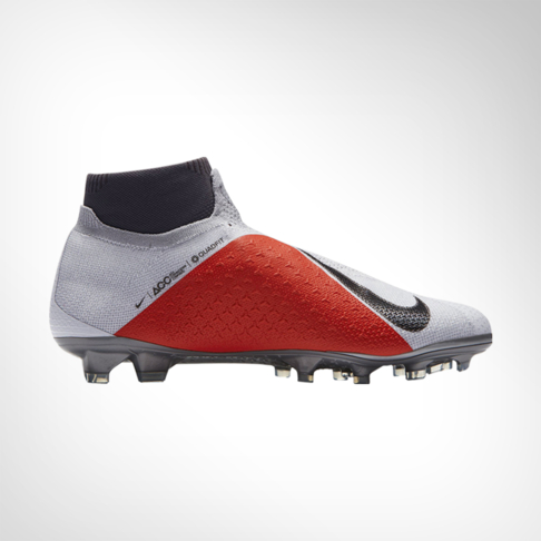 buy popular fcdf4 18f58 Men s Nike Phantom VSN Elite DF FG Grey Red Silver