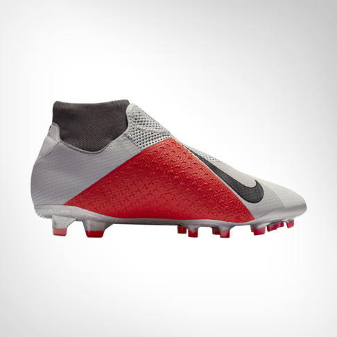 brand new e6a7e d8db5 Men s Nike Phantom VSN Pro DF FG Grey Red Silver Boot