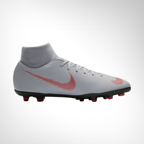 timeless design d4de0 40ad7 Men's Nike Mercurial Superfly 6 Club DF MG Grey/Red Boot