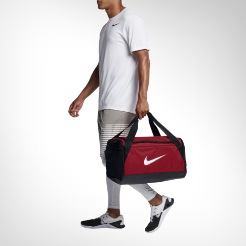 Nike Brasilia (Small) Training University Red Duffel Bag c5a900c71b3a9