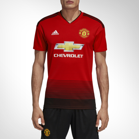 Men s adidas Manchester United 2018 19 Home Replica Jersey f8e043af1