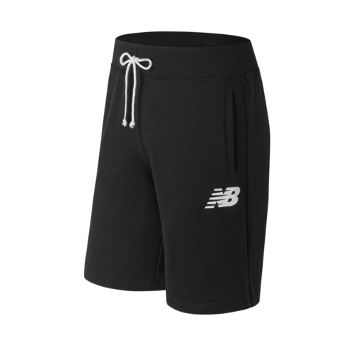 reputable site dbddb 185f8 Men's New Balance Core 10 inch Black Fleece Shorts