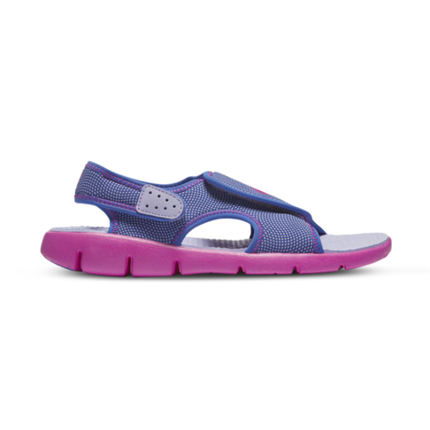 6b0e036c20cac Junior Pre-School Nike Sunray Adjust Purple Pink Sandal