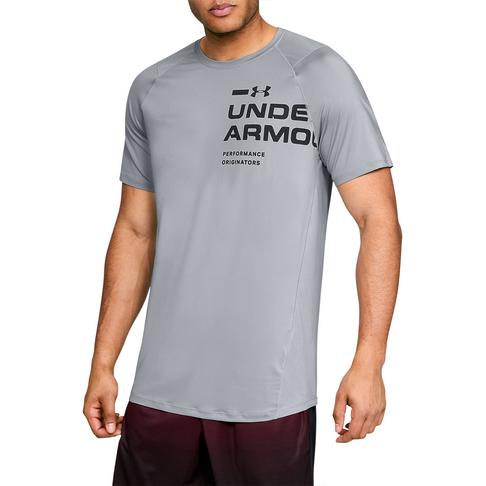 30c60d15e69971 Men's Under Armour MK-1 Logo Graphic Grey Tee