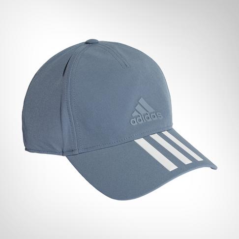 c12cf30e8c2c6 adidas C40 3-stripes Grey Climalite Cap