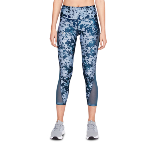 a93f2836d7156 Women s Under Armour HeatGear Floral Print Ankle Crop Tights