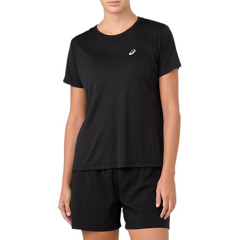 79090fd5 Women's Asics Run Short Sleeve Black Top