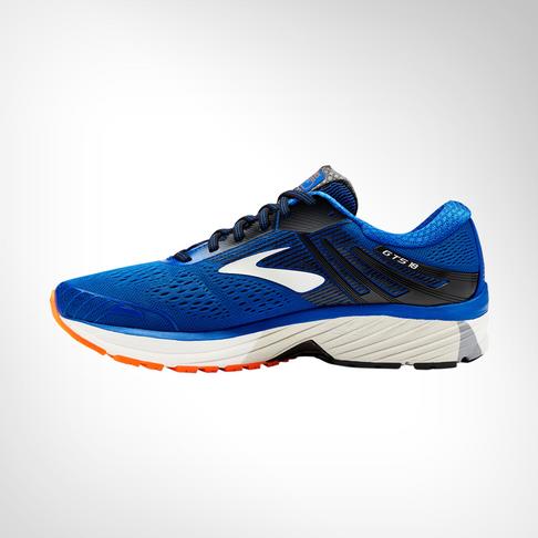 buy popular c13ee f6a71 Men's Brooks Adrenaline GTS 18 Bue Shoe