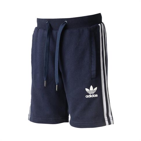 Boys adidas Originals Navy Fleece Shorts 3f650a76283dd