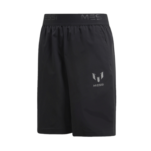 2315e698f86 Junior adidas Messi Black Shorts