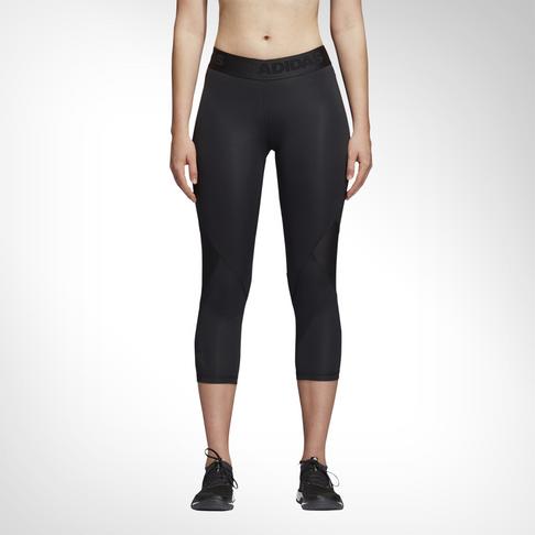 be9bf796bef2c6 Women's adidas Alphaskin Sport 3/4 Black Tights