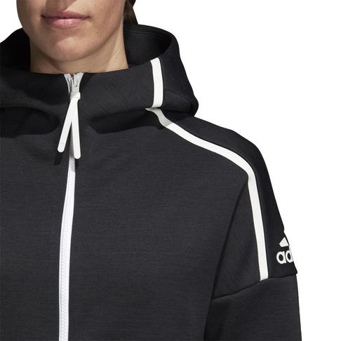 d56a649649c7 Women s adidas Z.N.E. Fast Release Black Hoodie