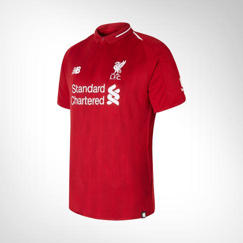 Men s New Balance Liverpool Short Sleeve Home Jersey 18 19 0cd7236c9