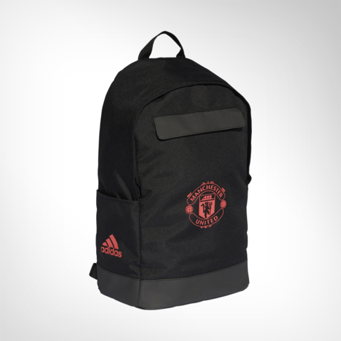 adidas Manchester United Black Backpack 90b9468012e63