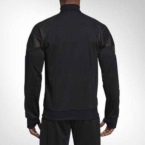 e950b073c Men s adidas Manchester United Icon Black Track Jacket