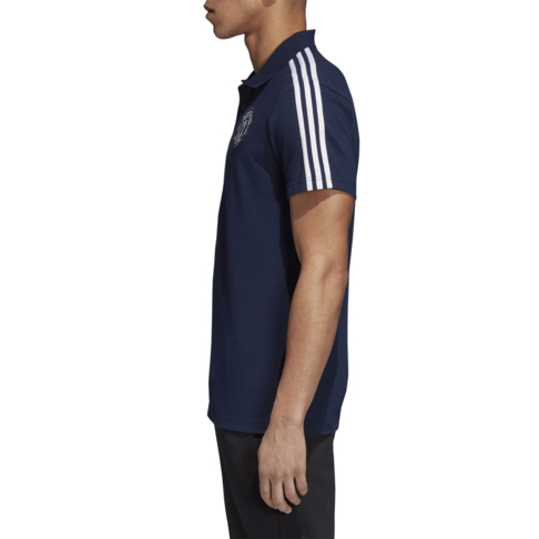 8cf5c5c0ee1 Men s adidas Manchester United 3-stripes Navy Polo Shirt