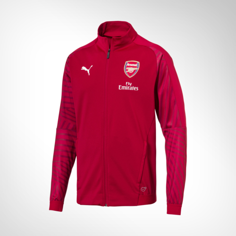f8de0a8b6 Men s Puma Arsenal FC Red Stadium Jacket
