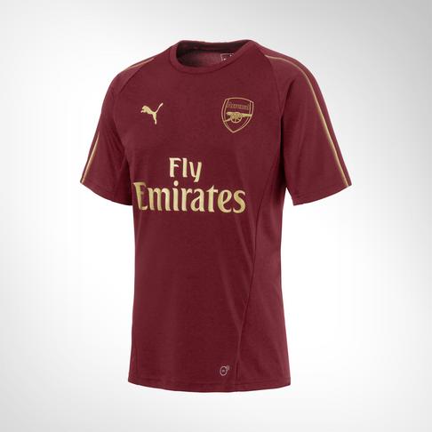 02eeeaa7ecef Men s Puma Arsenal Red Gold Training Top