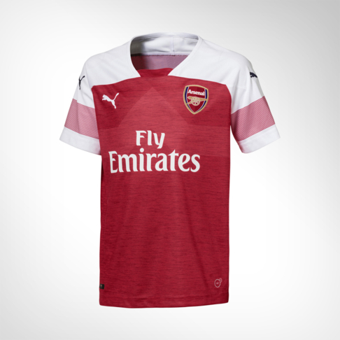 4d57db0a35d5 Junior Puma Arsenal Home Replica Jersey