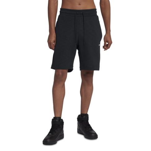 special price for amazing quality available Men's Nike Sportswear Optic Fleece Black Shorts