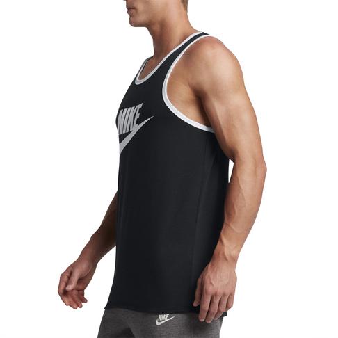 b0a38923164990 Men s Nike Sportswear Ace Logo Black Tank