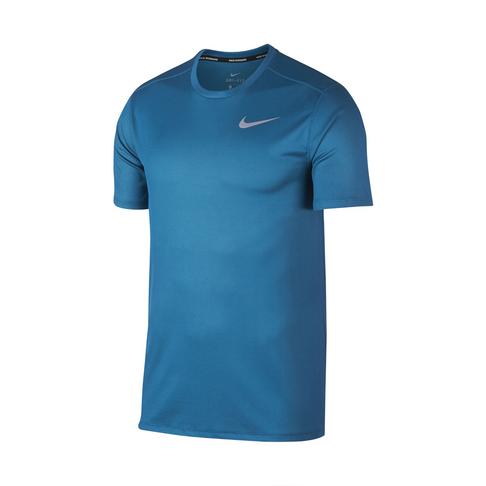 31643342 Men's Nike Dri-Fit Breathe Green Abyss Running Top