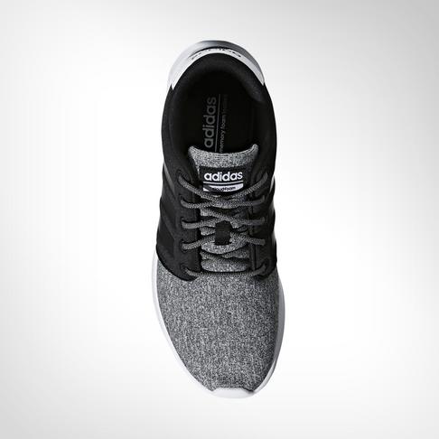 27a692c9821d Women s adidas CloudFoam QT Racer Black White Shoe
