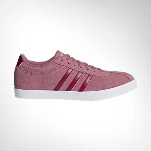 9e2f7c90120a46 Women s adidas Courtset Pink White Shoe