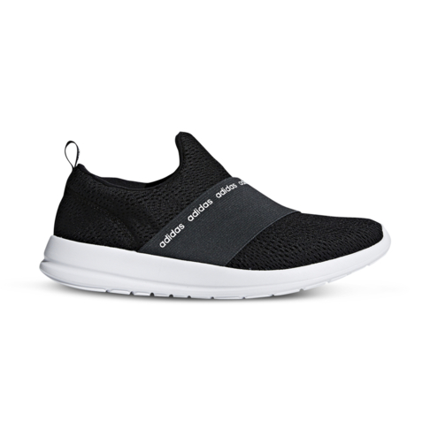 a4a15f75e07 Women's adidas Cloudfoam Refine Adapt Black/White Shoe