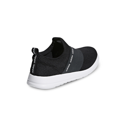 0419916890f6 Women s adidas Cloudfoam Refine Adapt Black White Shoe