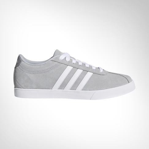54219b7a65 Women's adidas Courtset Grey/White Shoe