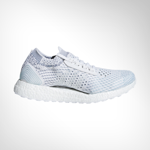 sports shoes b3e41 8c2d8 Women s adidas Ultra Boost X Parley LTD White Turquoise Shoe