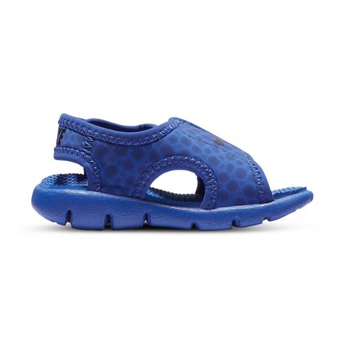 half off b4718 f7bb3 Infants  Nike Sunray Adjust Blue Navy Sandal