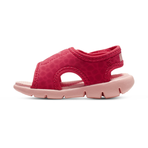 new product 11b28 5b6e1 Infants  Nike Sunray Adjust Pink Coral Sandal