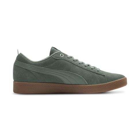 Women s Puma Smash V2 Suede Green Gum Shoe 4881894ccc