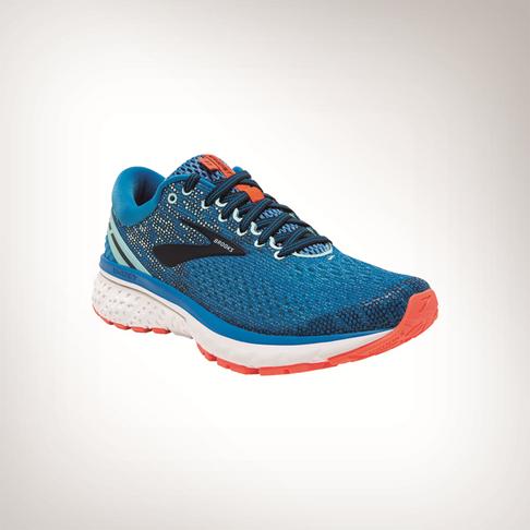 383d911e5b077 Women s Brooks Ghost 11 Blue White Shoe