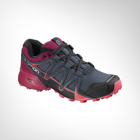 premium selection 403b7 ae067 Women's Salomon Speedcross Vario 2 Cerise/Charcoal Shoe