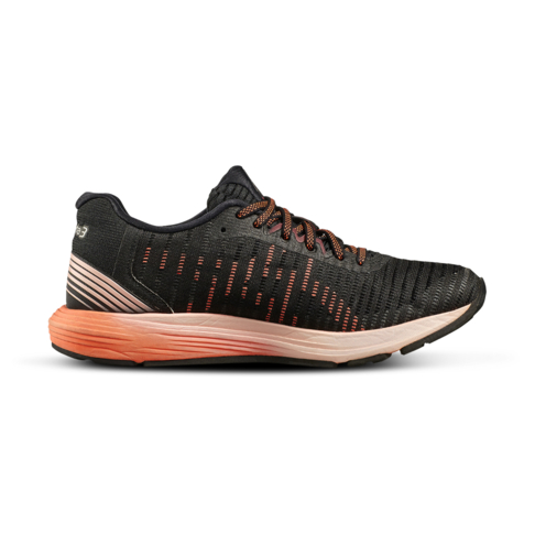 finest selection fe9b8 88bbf Women's Asics Dynaflyte 3 Black/Coral Shoe