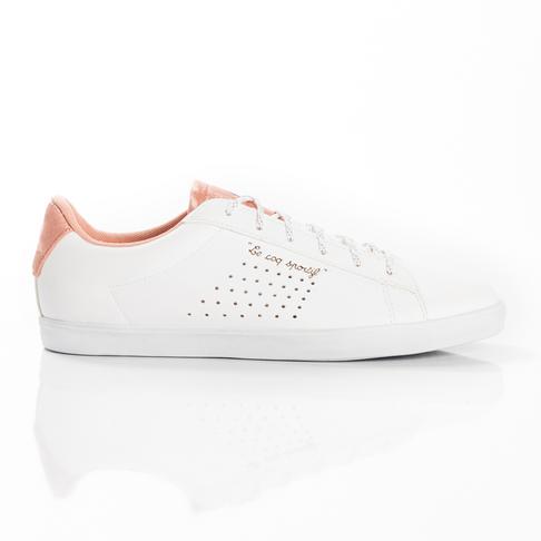 timeless design 4b239 0b692 Women s Le Coq Sportif Agate Sport White Pink Shoe