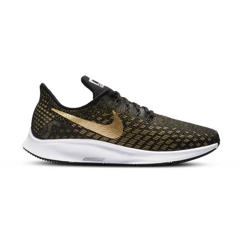 d6188b28debde Women s Nike Air Zoom Pegasus 35 Black Gold Shoe