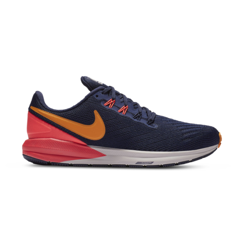 9a34cd9984d Women s Nike Air Zoom Structure 22 Navy Orange Pink Shoe