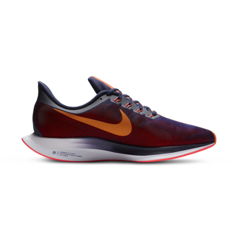 76b1c9b8bf312 Men s Nike Zoom Pegasus +35 Turbo Navy Orange Shoe
