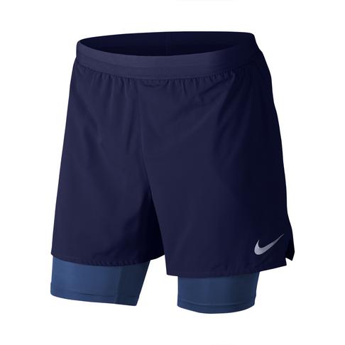 0be45f3a1944 Men s Nike Flex Stride 2-in-1 5inch Blue Run Shorts