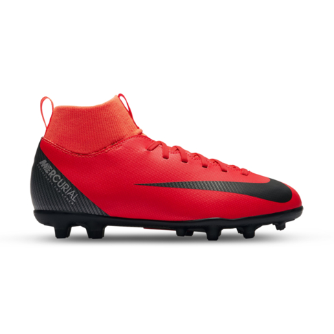 official photos 5a5fc 8bb19 Junior Nike Superfly 6 Club CR7 MG DF Red Black Boot