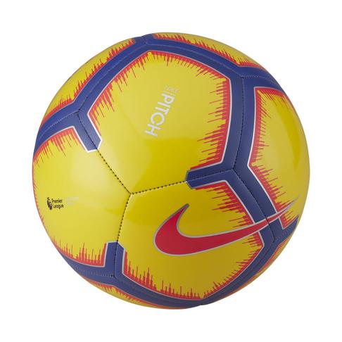 778ba75a5fde6 Nike Premier League Pitch Yellow/Purple Football